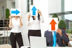 Decisão de negócio Foto de Stock Royalty Free