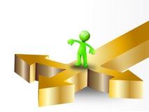 Decisões bem escolhidas Foto de Stock Royalty Free