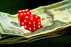 Decisões financeiras Imagens de Stock