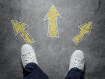 decisões Imagem de Stock