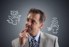 Decisões empresariais Imagem de Stock