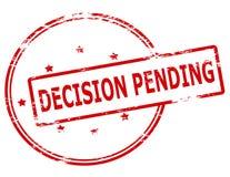 Decision pending Stock Image