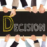 Decision Royalty Free Stock Image