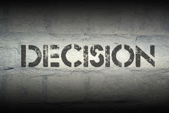 Decision Royalty Free Stock Photography