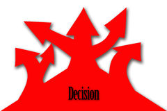 Decision tree Stock Images