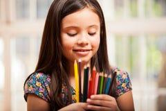 Decisione del quale colore per usare Fotografia Stock