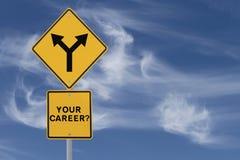 Decisione di carriera Immagini Stock