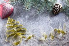Decisiones del ` s del Año Nuevo sobre una forma de vida sana Días de fiesta sanos de la consumición y de la dieta ¡Puesto en bue Fotografía de archivo