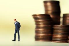 Decisioni finanziarie Fotografie Stock Libere da Diritti