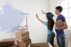 Decisions on Moving Day Stock Photos
