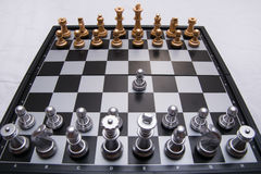 Decisive chess game Royalty Free Stock Images