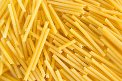 Decisive of spaghettis close up Stock Photography