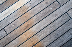 Deck of an ancient sailing vessel Royalty Free Stock Image