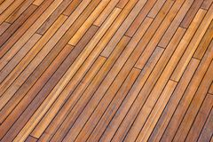 Deck boards. Stained deck boards on ship royalty free stock photo