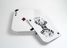 Deck of Cards. Photo of a Deck of Cards - Part of Series stock photos
