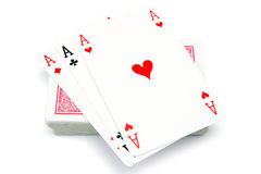 Deck of cards. Royalty Free Stock Images