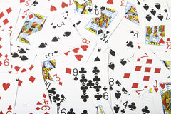 Deck of cards Royalty Free Stock Image