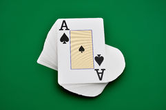 Deck  cards Royalty Free Stock Photo