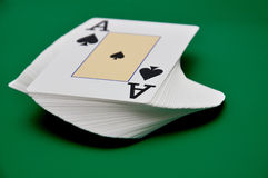 Deck  cards Royalty Free Stock Images