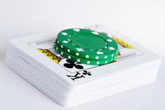 Deck of cards Royalty Free Stock Images