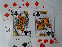 Deck of cards royalty free stock photography