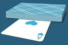 Deck of cards. Illustration of the deck of cards Stock Photo