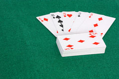 Deck of cards. An image showing a deck of cards Stock Photo