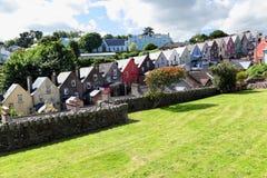 Deck of cards row of houses, Cobh -Ireland Stock Photos