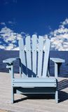 Deck Chair Royalty Free Stock Photography
