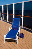 Deck chair Stock Photo