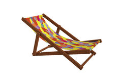 Deck-chair Royalty Free Stock Photography