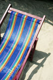 Deck chair Stock Image