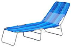 Deck chair. Isolated Royalty Free Stock Photography