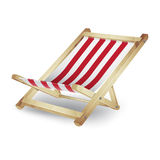 Deck chair Royalty Free Stock Images