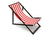 Deck chairs Royalty Free Stock Image
