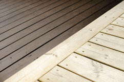 Deck contrasts Royalty Free Stock Photography