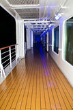 Deck of cruise ship Royalty Free Stock Photos
