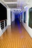 Deck of cruise ship Royalty Free Stock Photos