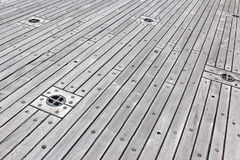 Deck Flooring Royalty Free Stock Image