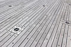 Deck Flooring Royalty Free Stock Image