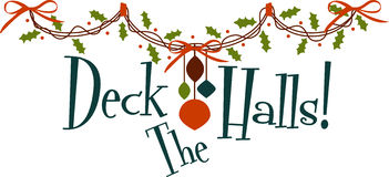 Deck The Halls Royalty Free Stock Photography