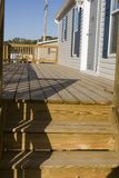 Deck, Modular Home royalty free stock images