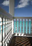Deck over the sea Stock Image