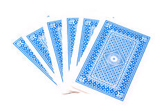 Deck of playing cards Stock Images