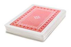 Deck of playing cards Stock Photos