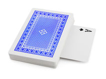 Deck of playing cards Royalty Free Stock Photography