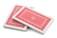 Deck of playing cards Stock Photo