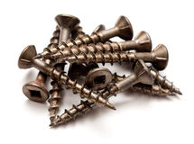 Deck screws Royalty Free Stock Image