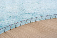 Deck and sea Stock Photos