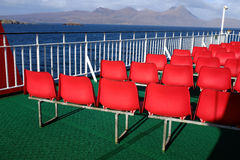 Deck seating. Stock Images
